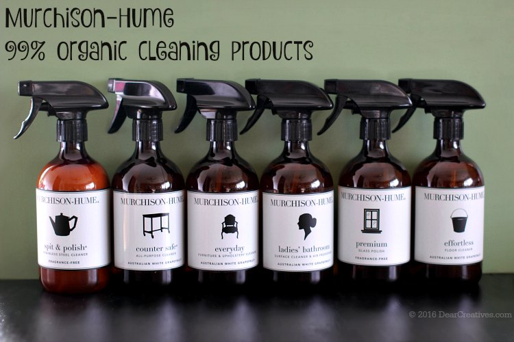 Murchison-Hume Cleaning Products - organic cleaning products review. Find out about this full line of all natural cleaning products.