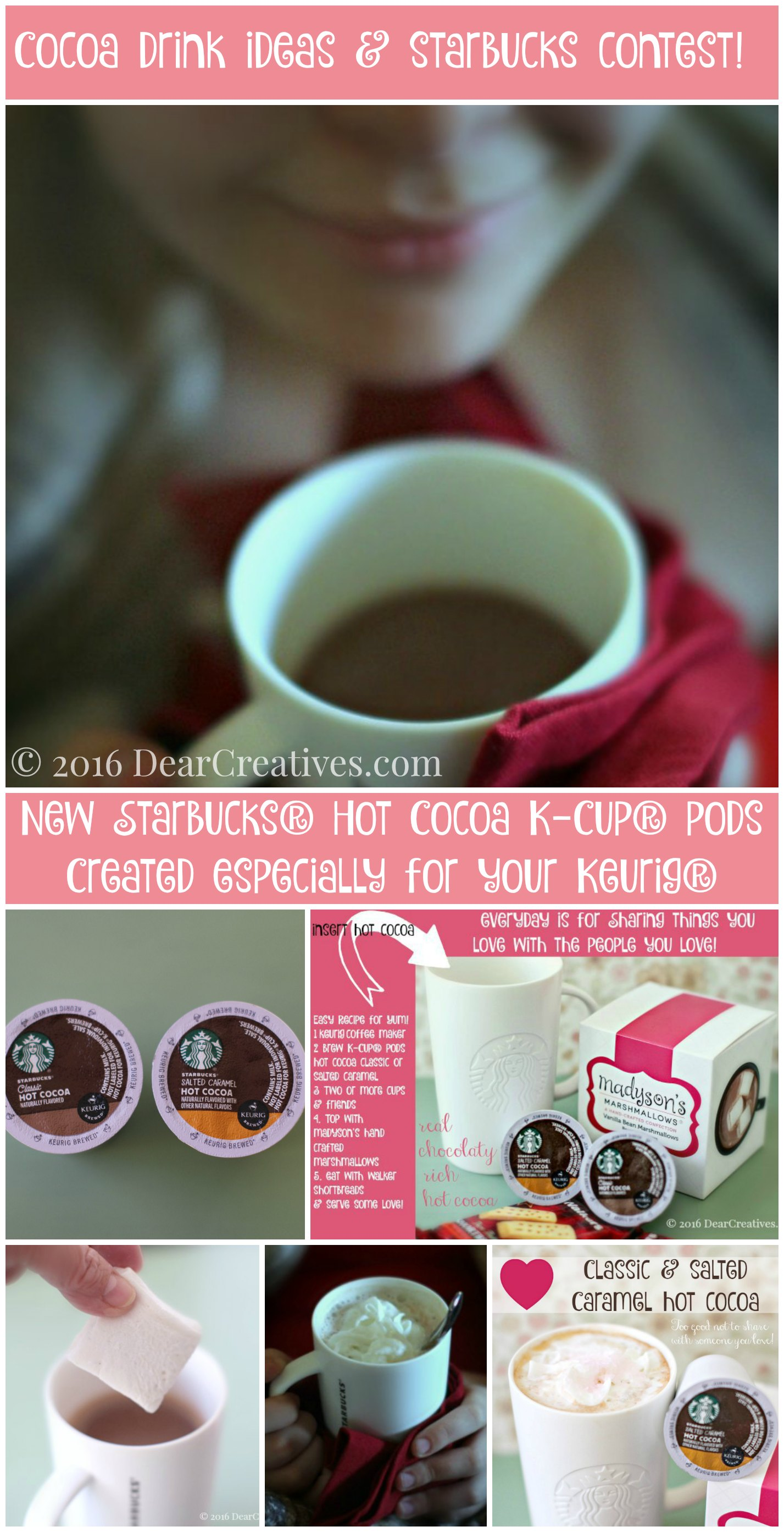 Drink Recipes cocoa drink ideas and starbucks coffee company contest