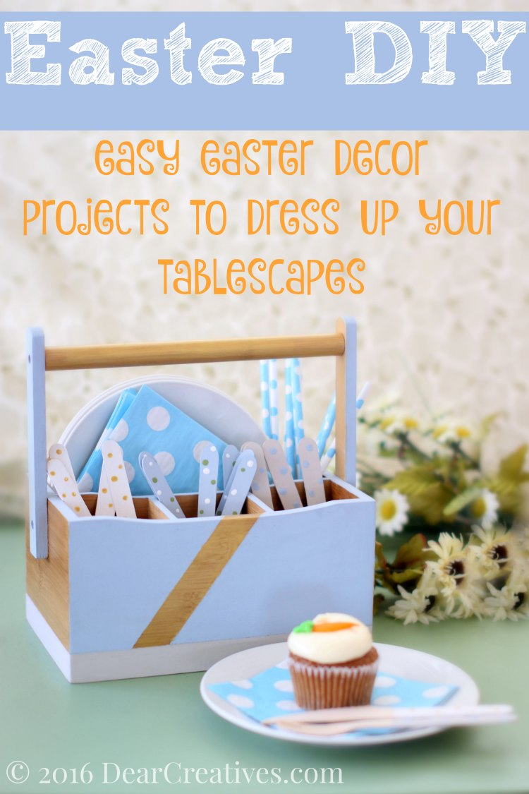 DIY Upcycled Utensil Holder Match Your Party Theme!