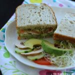 Sandwich Ideas-This Avocado Sandwich is an easy vegetarian sandwich made with guacamole. It's so tasty enjoy this with your favorite vegetables