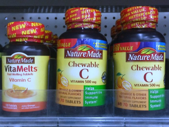 Healthy Lifestyle | Nature Made Vita Melts and Chewable Vitamin C