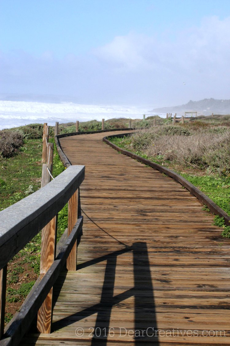 Healthy Lifestyle |Walkway at the beach