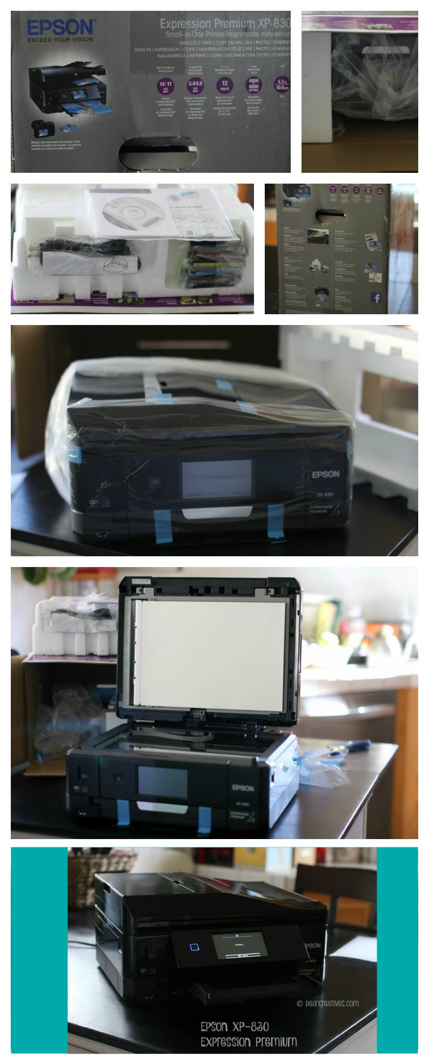 Electronics Epson Printer XP-830 Review and unboxing