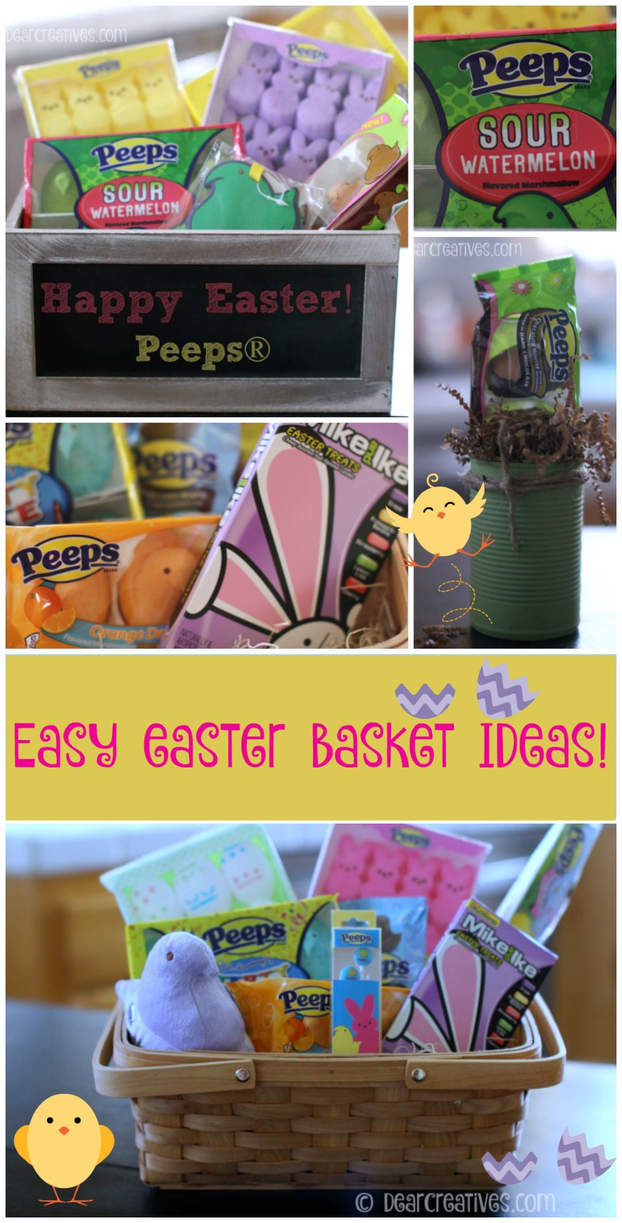 Spring Gift Basket – DIY Easter Baskets