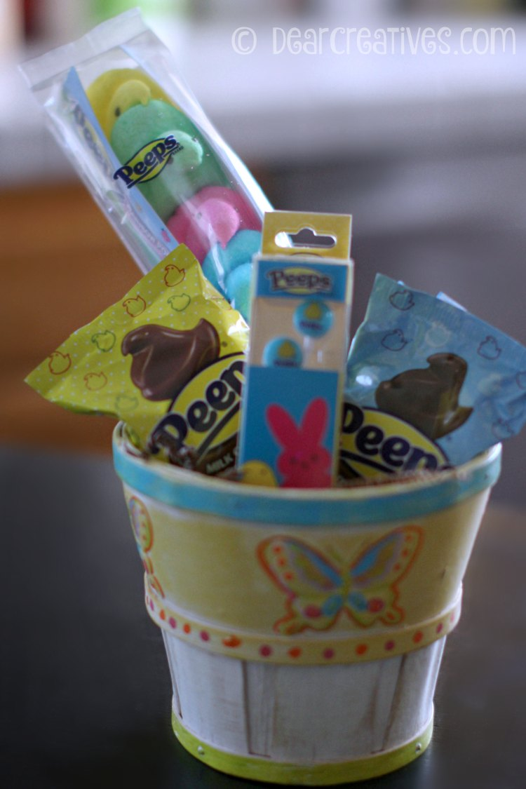 Gift Baskets Hand Painted Easter Basket For Easter