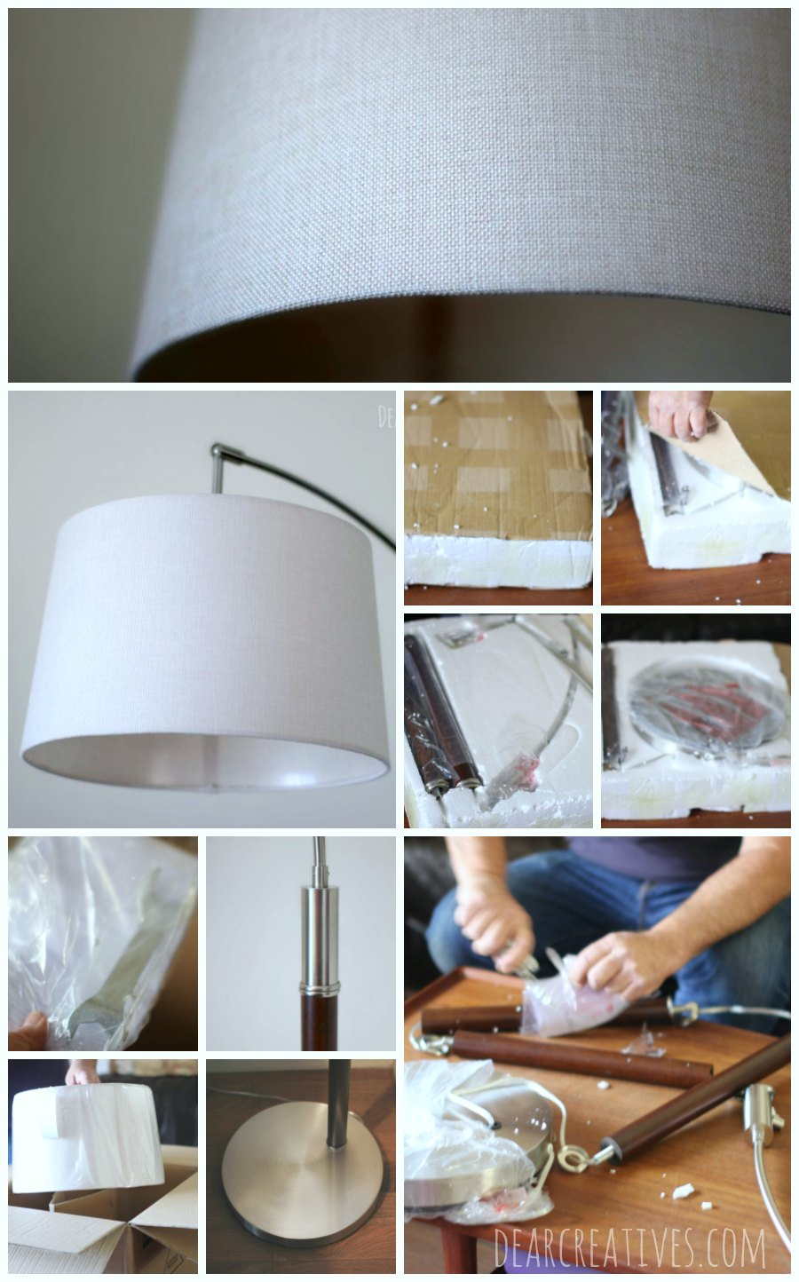 Home Decor Home Decor Accent Putting together a home decor accent piece lamp-reading lamp