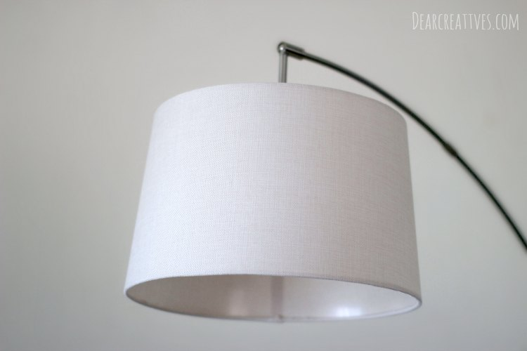 Home Decor Home Decor Accent Reading Lamp Lamp Shade Close up
