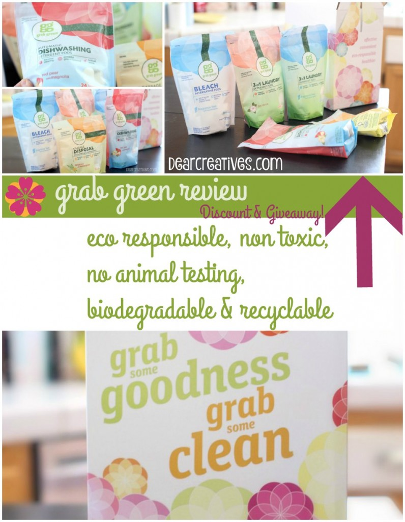 Cleaning Supplies Grab Green Review Discount and Giveaway