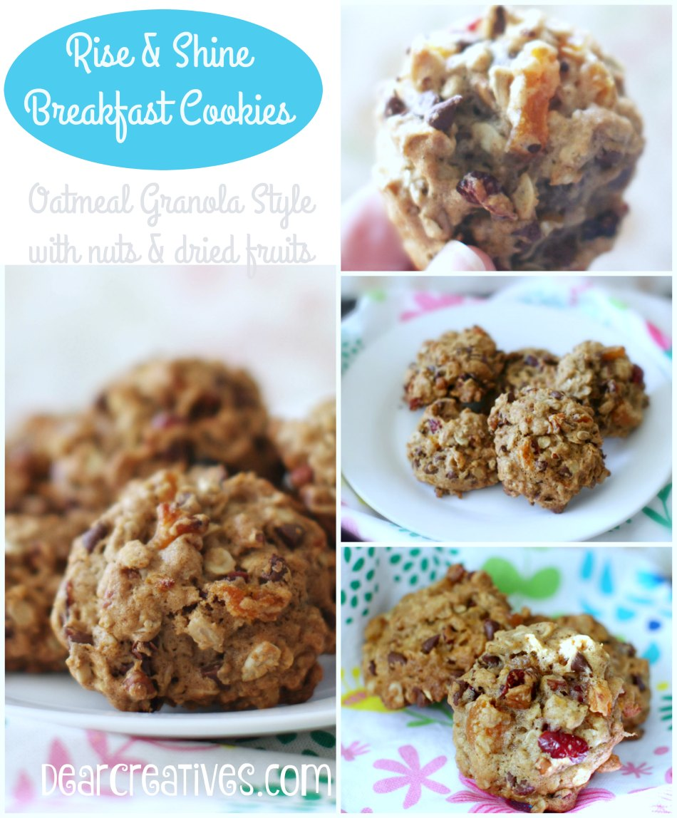 Oatmeal Breakfast Cookies Recipe + Variations