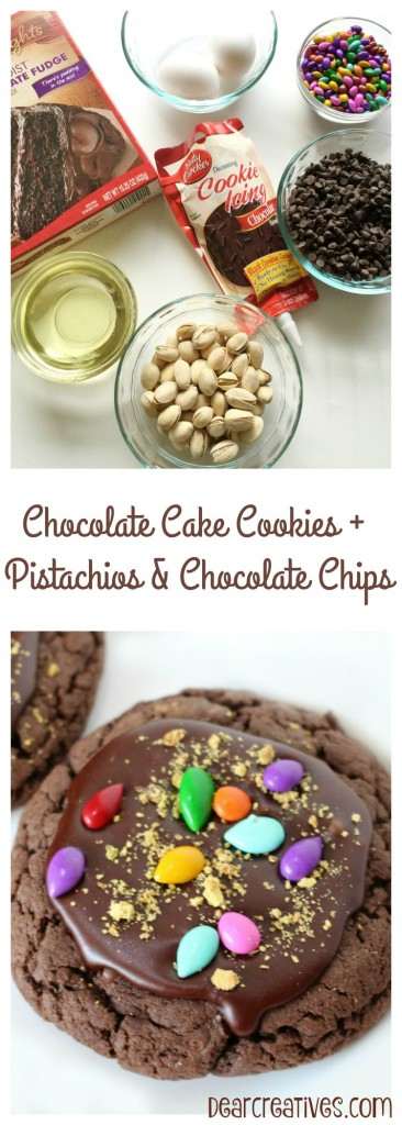 Baking | Easy Baking Recipe | Chocolate Brownie Cookies With Pistachios and Chocolate Chips