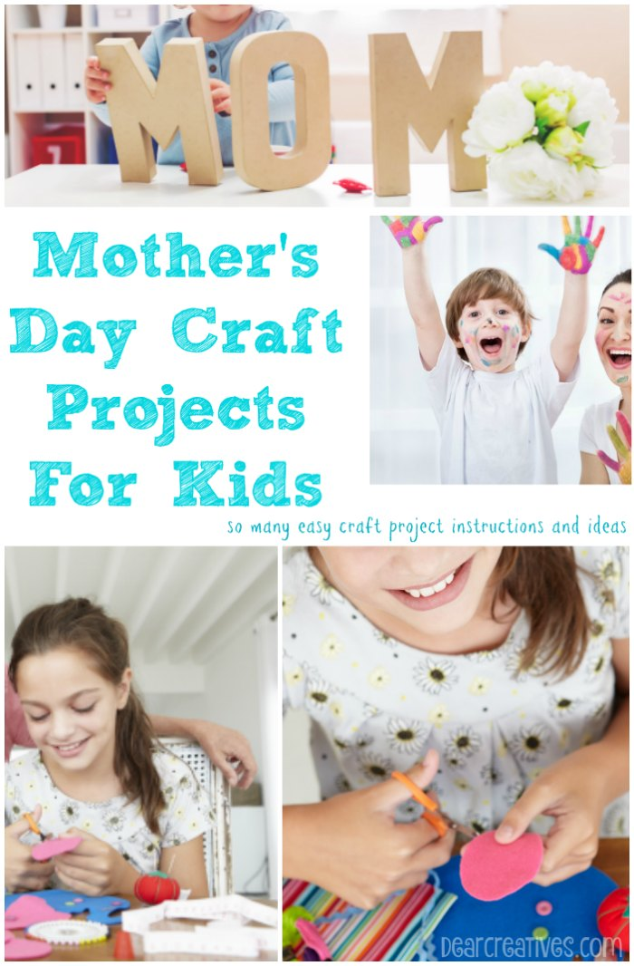 Mother's Day Craft Projects For Kids
