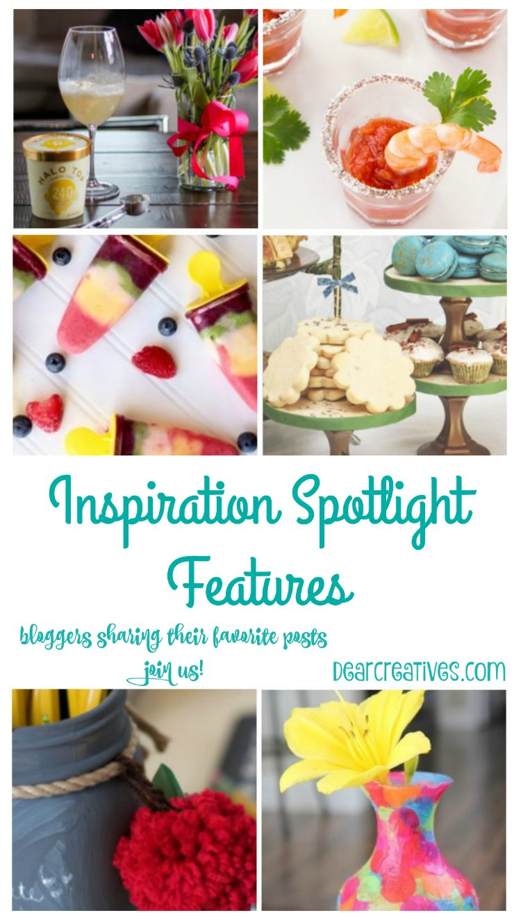 Linkup Party Inspiration Spotlight Features 193 |Linkup Party where bloggers share their favorite blogging tips, crafts, DIY, recipes, beauty & fashion, sewing and more! Stop by grab ideas, tutorials &...