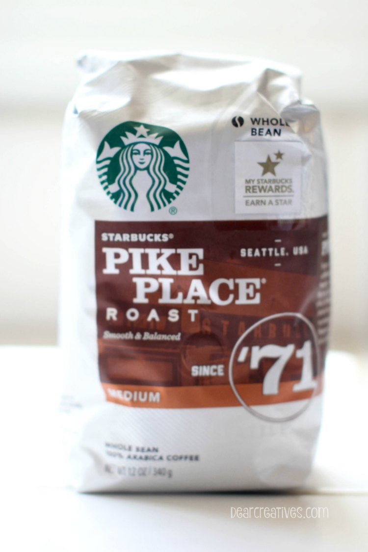 Drinks | Starbucks Pikes Place coffee beans