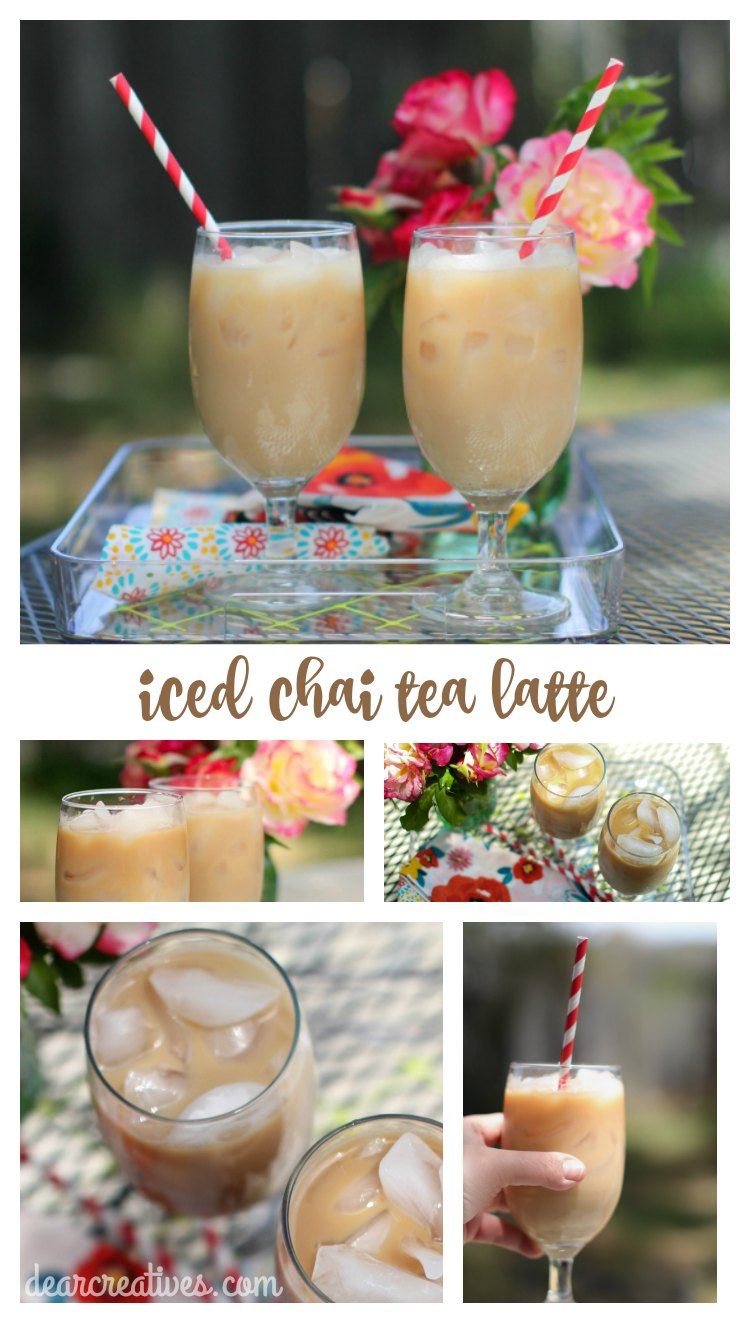 How To Make An Iced Chai Tea Latte