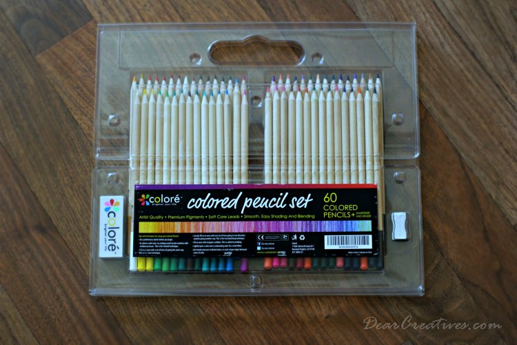 Drawing With Colored Pencils Colore Colored Pencil Set