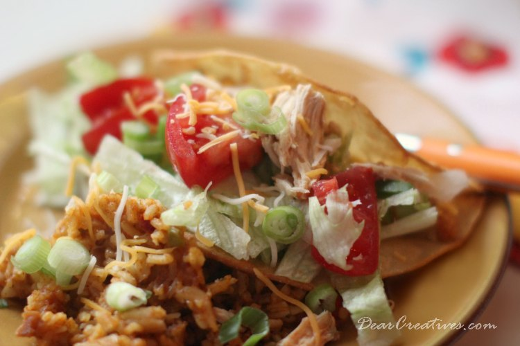 Slow Cooker Recipes | Slow Cooker Chicken Tacos