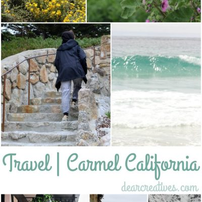 Travel Carmel |California Carmel by the sea | So many fun things to do and see. Carmel makes a great get away or vacation destination!