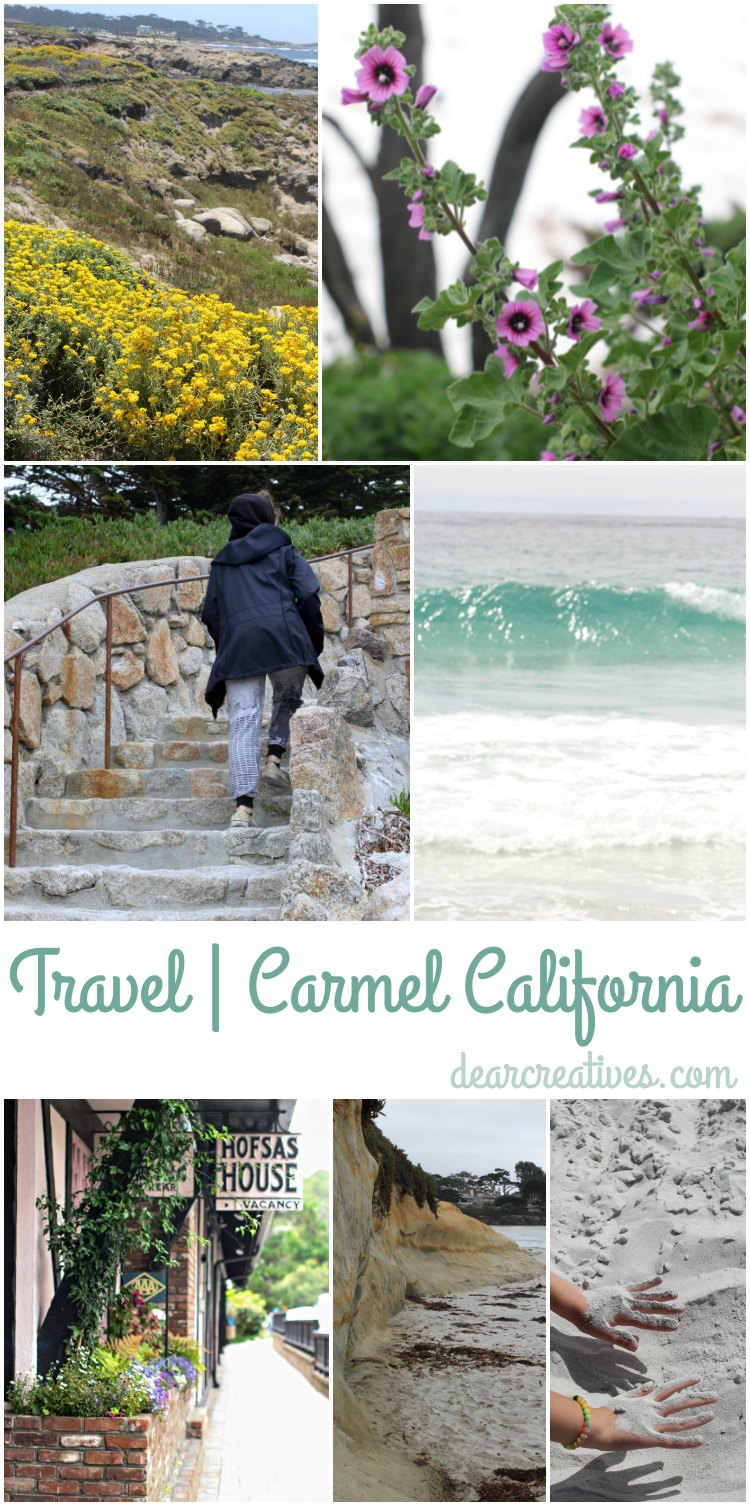 Travel: Exploring Carmel California's Beauty & Sites