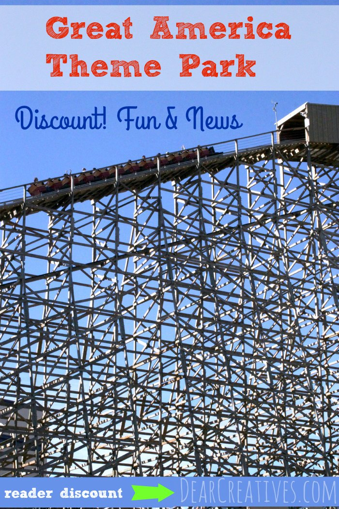 Great America Discount Tickets! Family Fun For Everyone!