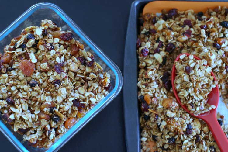 Homemade Granola Recipe Easy 30 Minute Recipes