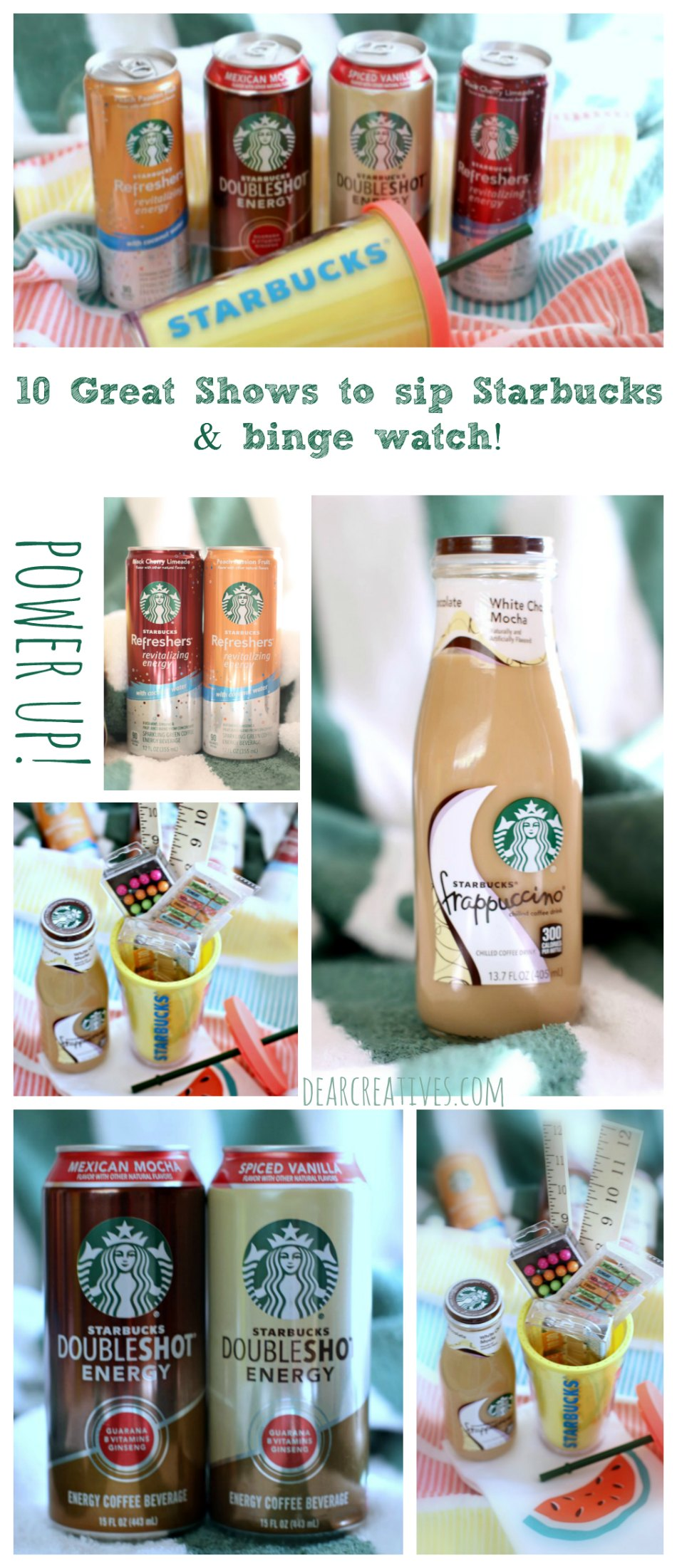 "Binge-Watching List ""Netflix and Chill""+ DIY Iced Coffee Gift"