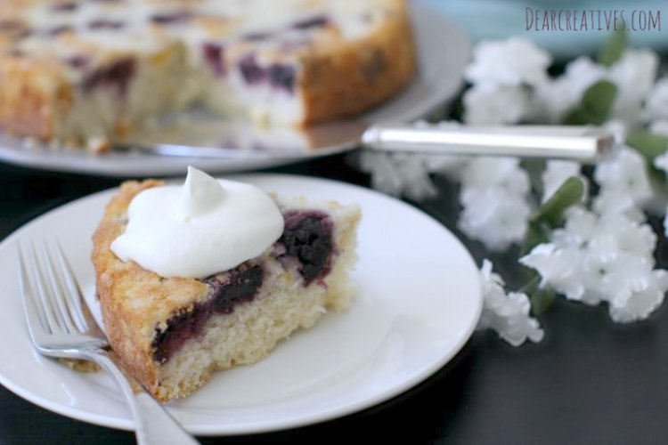 Cake Recipes Blackberry And Peaches Coffee Cake This is an easy recipe. Pairs well with coffee, tea or iced tea. Topped with whip cream. Great for a get together. A great summer cake recipe.