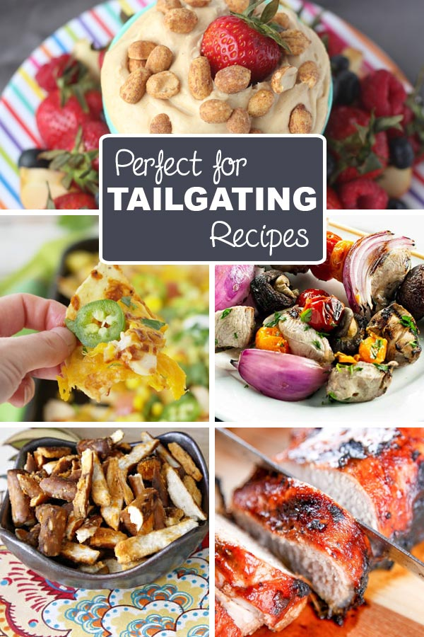 Tailgating Recipes| Game Day Recipes | These recipes will make your mouth water and ideas will fire you up for the game! Touch down! | DearCreatives.com