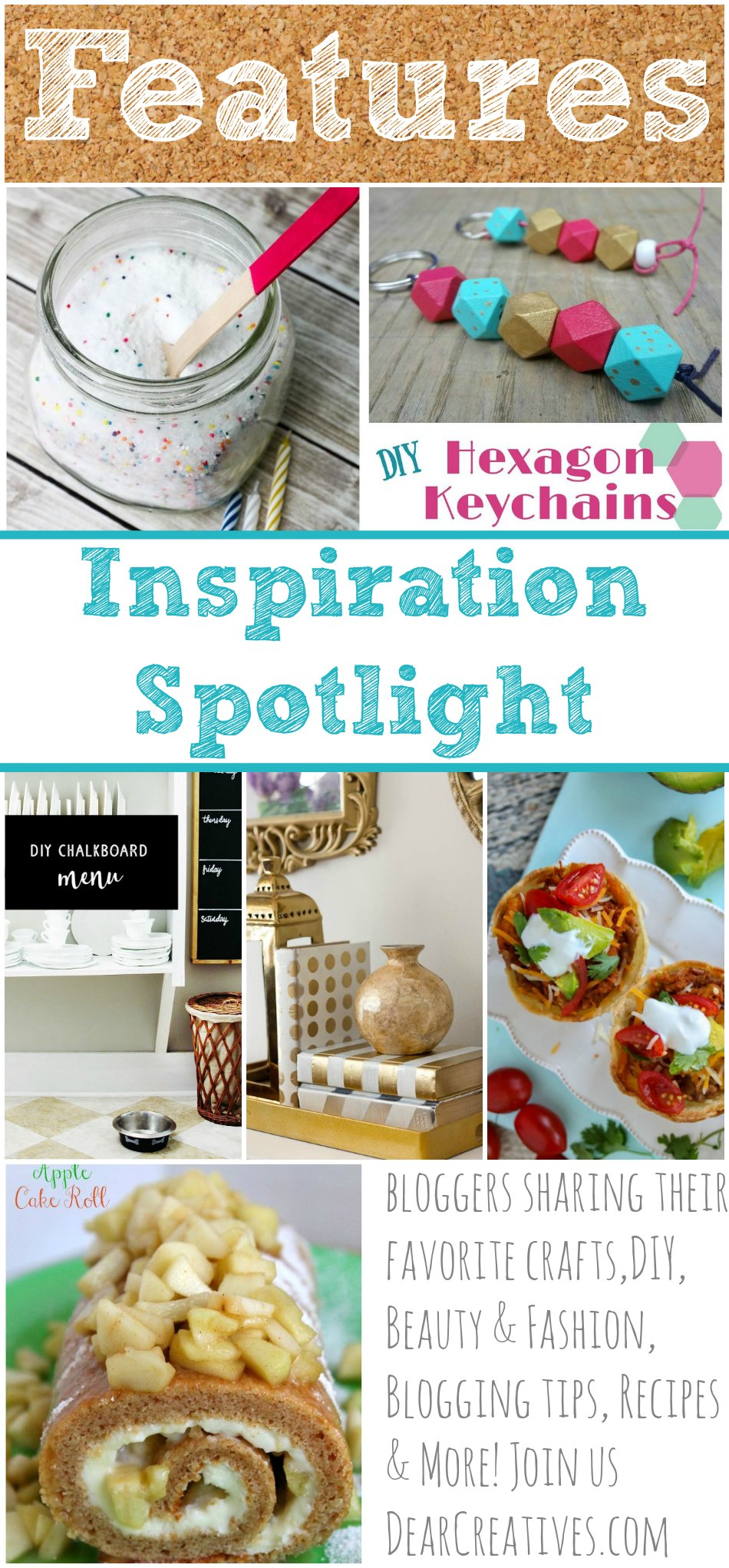 Linkup Party Inspiration Spotlight 210 Bloggers sharing their favorite crafts, DIY, beauty and fashion, blogging tips, recipes and more!