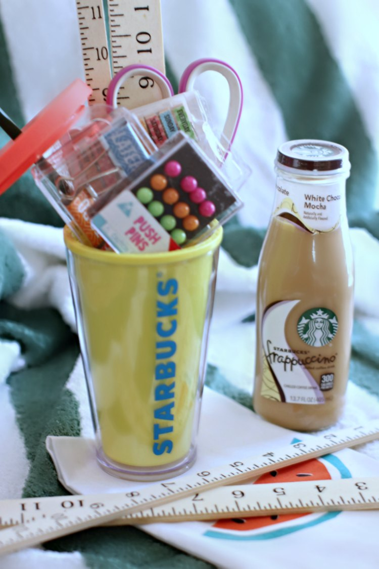 Starbucks Coffee Gift Idea Back to school