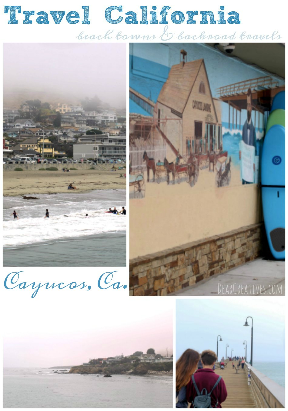 Travel | California Cayucos California Beach Town Backroad traveling so many great places to visit