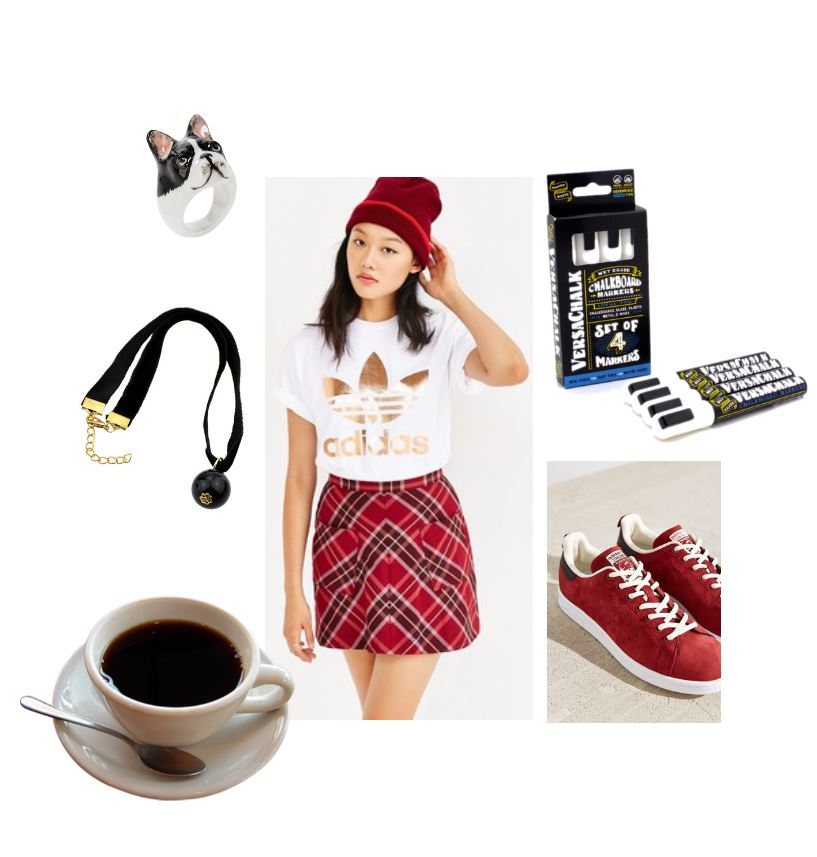 fashion style back to school outfit