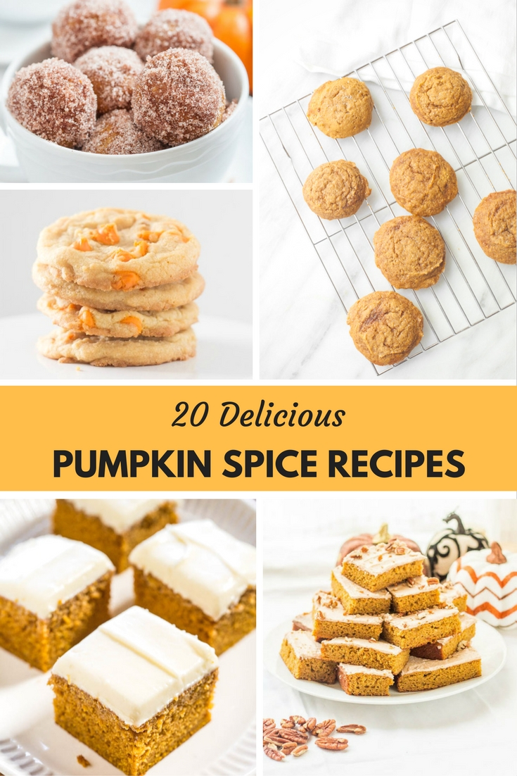20 Pumpkin Spice Recipes To Make This Season!