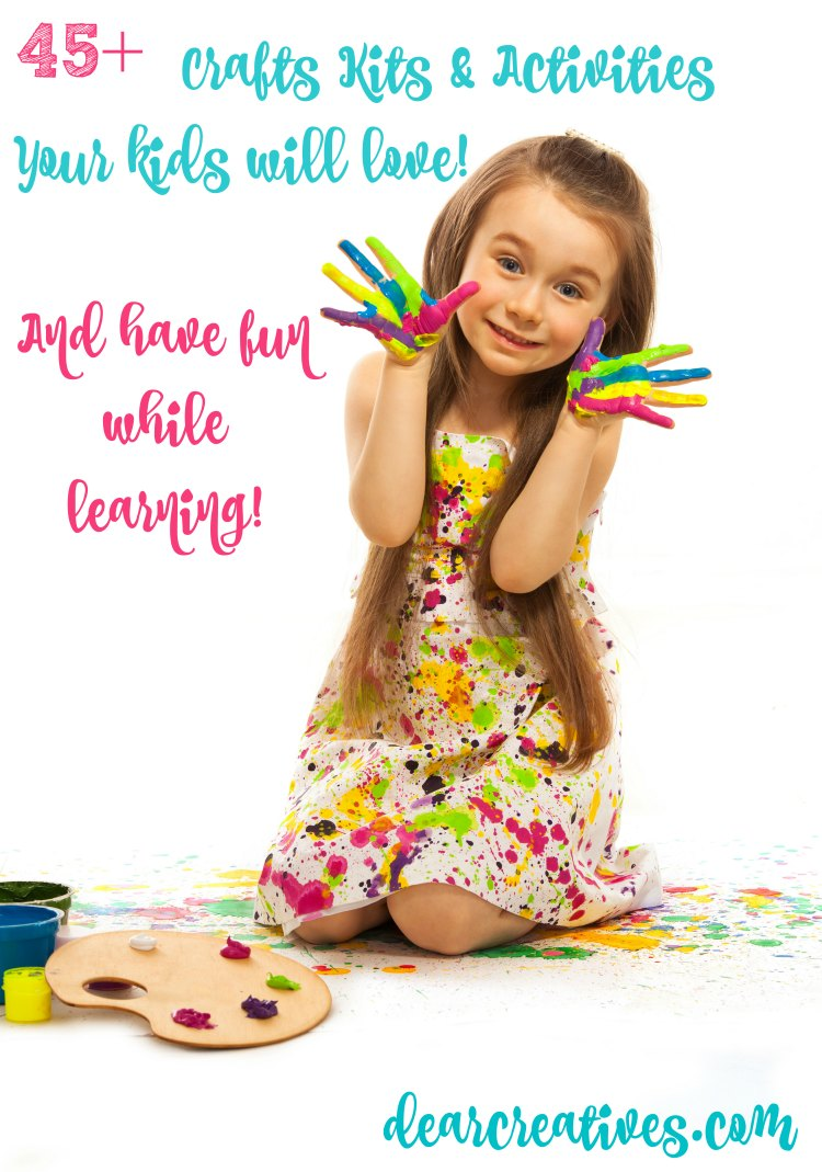 craft-kits-and-kids-activities-so-many-to-choose-from-they-will-have-fun-playing-creatively-while-they-are-learning these craft kids make great gift ideas for kids