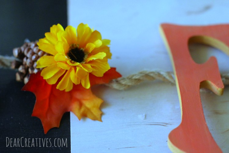 fall-banner-with-wood-letters-and-silk-flowers-on-rope-step-by-step-tutorial-that-anyone-can-make-close-up-of-banner