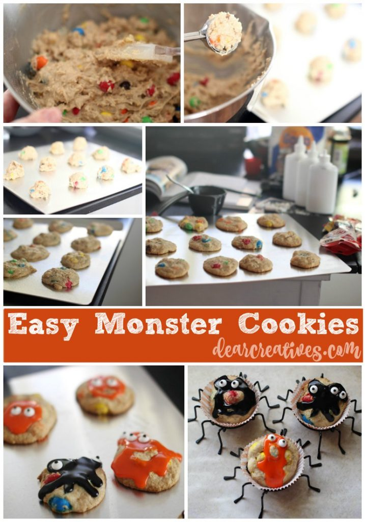 baking-halloween-cookies-ideas-easy-monster-cookies-recipe