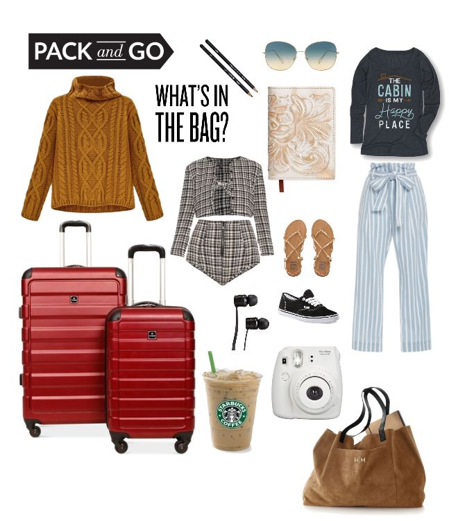 Goodbye Summer! Travel Style Trends What's In The Bag