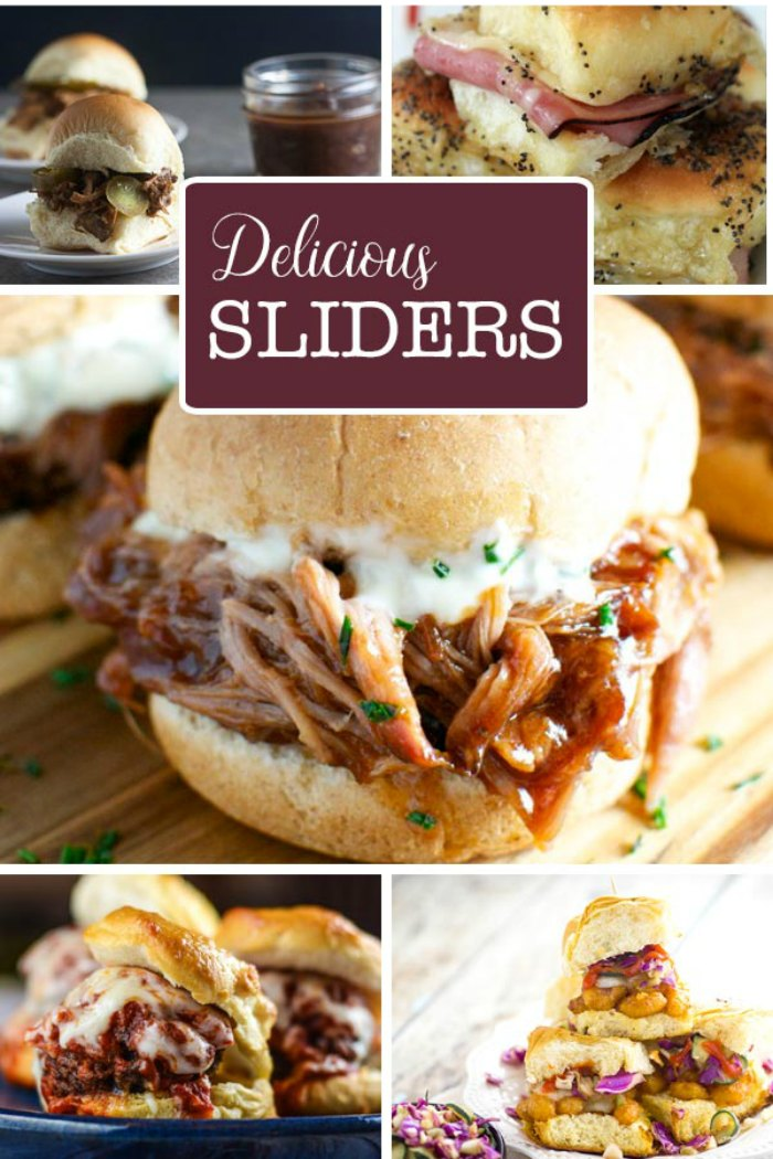 20 Slider Recipes Perfect For Game Days, Tailgating or Party Time!