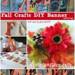 fall craft ideas | Fall wood banner DIY this is a fun and easy project anyone can make