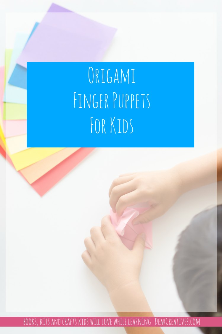 Book Review: Origami Finger Puppets Learning And Fun DIYs for Kids!