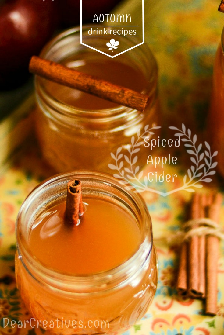 Easy to Make Spiced Apple Cider Recipe
