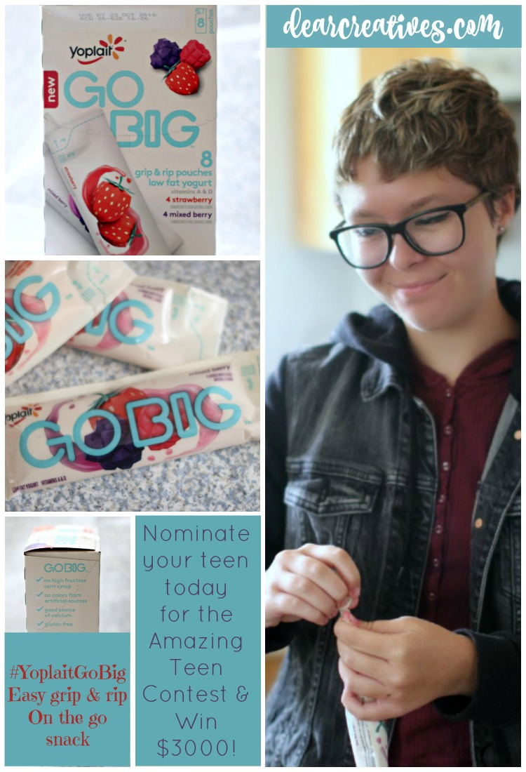 Open Letter To My Daughter | See How To Nominate Your Teen For #YoplaitGoBig Contest!