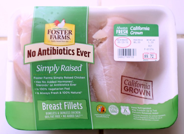 Foster Farms Simply Raised Chicken | Chicken Breasts