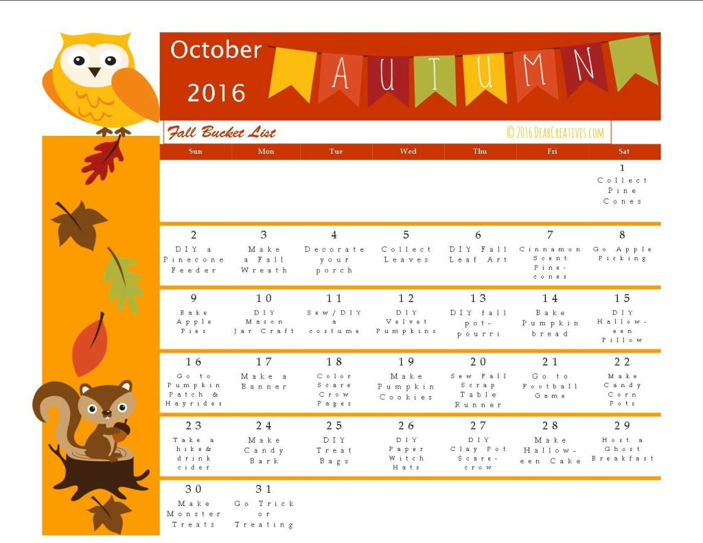 fun-fall-activities-fun-ideas-for-fall-complete-with-a-printable-calendar-bucket-list-and-links-to-tutorials-and-recipes-must-try-fall-ideas-fun-for-the-whole-family-october-calendar