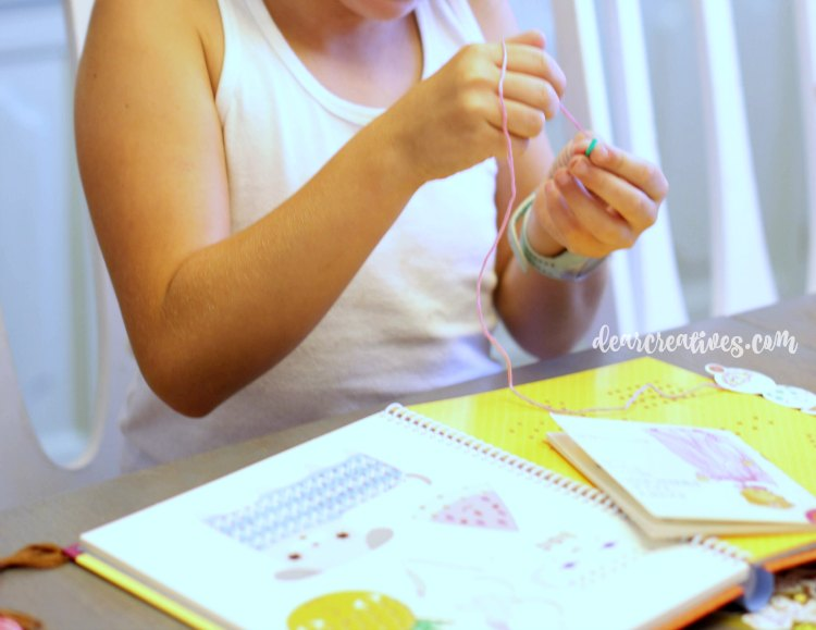 kids-crafts-learning-how-to-stitch
