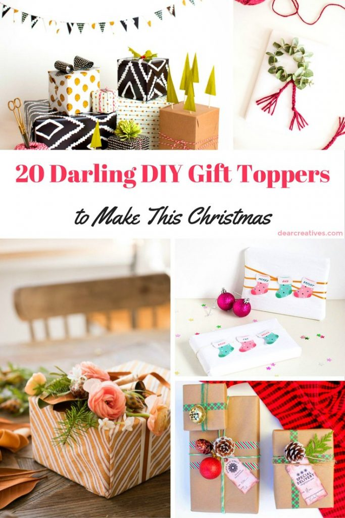 DIY Gift Toppers-diy-gift-toppers-ideas-to-inspire-and-delight-you-youll-enjoy-making-any-of-these-festive-diy-gift-toppers-for-christmas-holidays-and-other-celebrations
