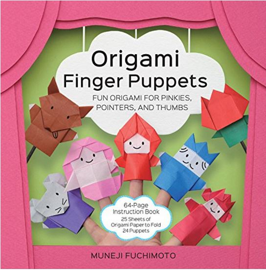 gifts for kids origami finger puppets