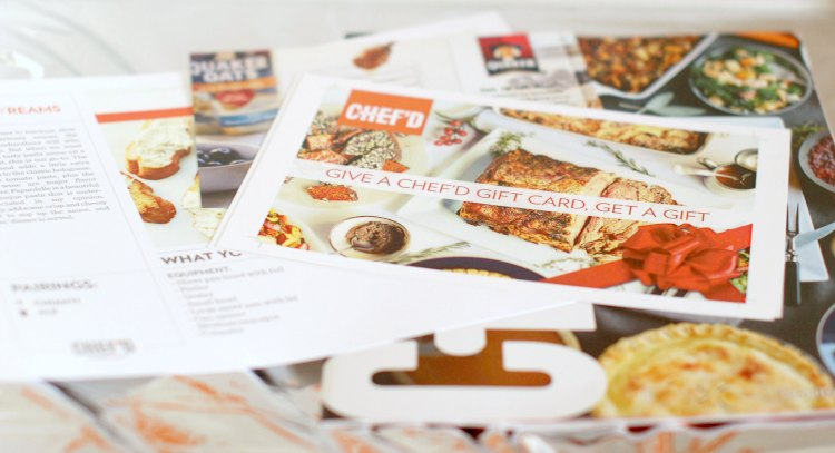 Chef'd meal planning and recipes DearCreatives.com