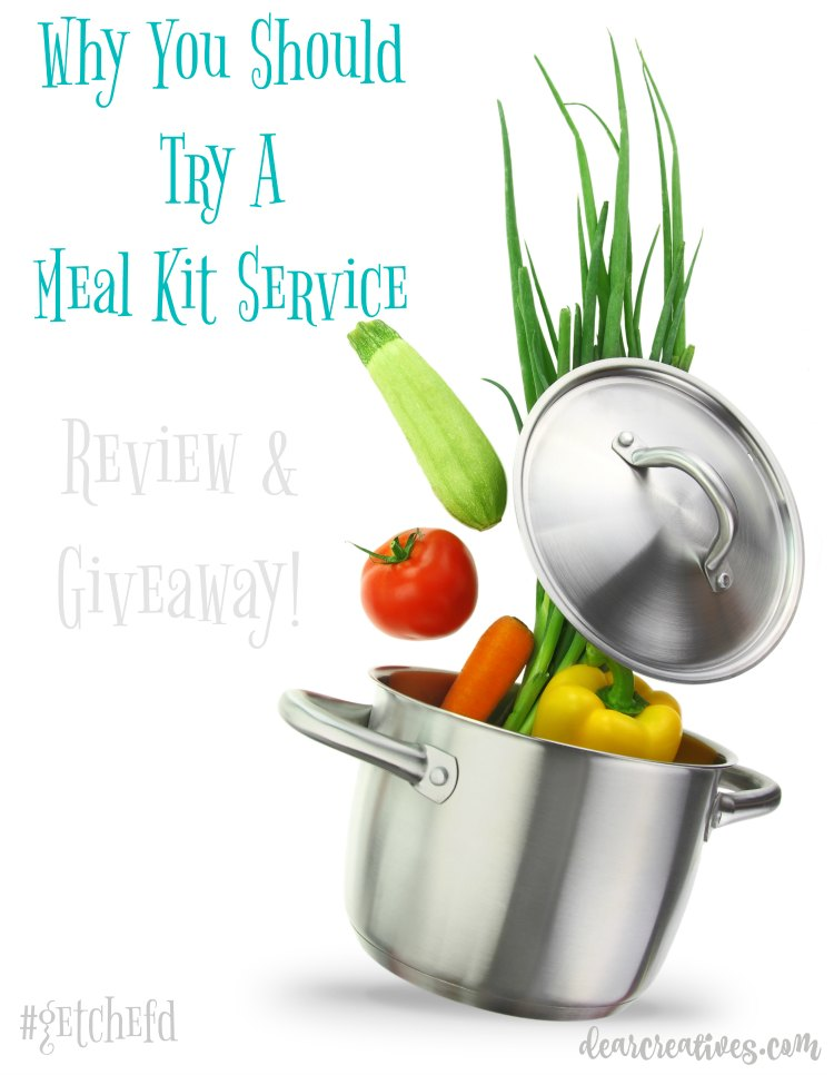 Meal Kit Service And Meal Planning: #GetChefd Right To Your Door + Giveaway!