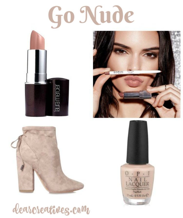Go Nude, Nude Lips That Is! Beauty Trends Perfect To Pucker Up To