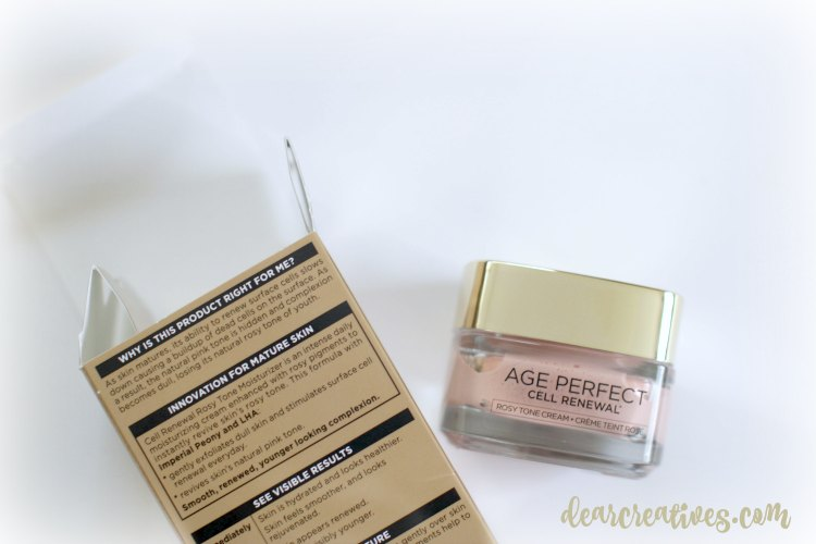 Beauty Tips DearCreatives.com L'Oreal Age Perfect Cell Renewal Beauty Review